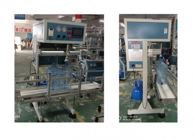 High Accuracy Touch Screen Water Bottling Line With Schneider Frequency Converter