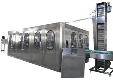 China 3 In1 Water Filling Machine , 0.5L Bottled Water Filling Line For Filling And Capping supplier