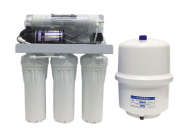China 50GPD RO-50 5 Stage Reverse Osmosis Water Filter With 3.2G Steel Pressure Tank supplier