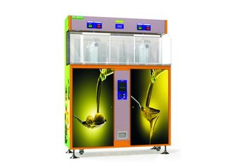 China Dual Zone Water Vending Machine For 5 Liter Per Minute Olive Oil Filling supplier