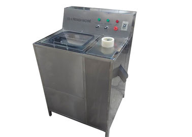 China Semi Auto 5 Gallon Bottle Washing Machine With Booster Pump And Motor factory