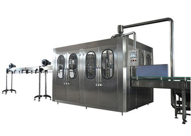 China 24 Filling Heads Bottled Water Filling Line With High Bottle Washing Efficiency factory