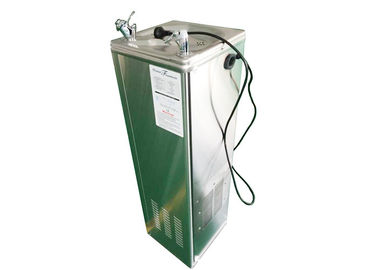 Silver Office Water Dispenser , Stainless Steel Bottleless Water Fountain