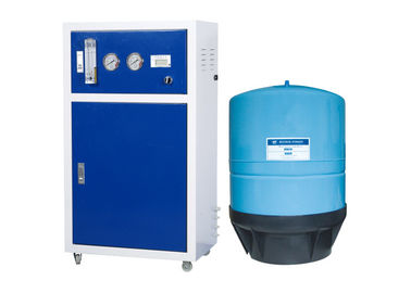 600GPD Commerical Water Purifier Machine 5 Stage RO System With Indicator And Flow - Meter