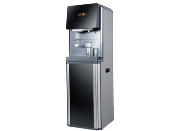 Hot and cold POU water dispenser JLR2-5CG high-end model UF and RO system optional with 50L fridge